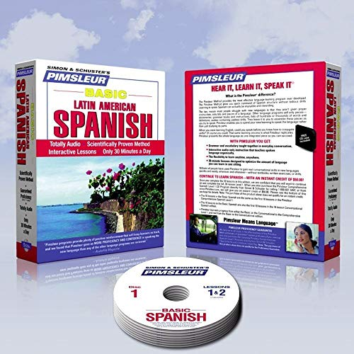 New 5 CD Learn to Speak Spanish Course 10 Lessons (Learn in Your Car) Includes Free Carrying Case!]()