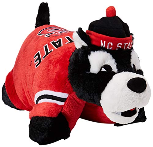 Fabrique Innovations NCAA Pillow Pet, North Carolina State Wolfpack ()