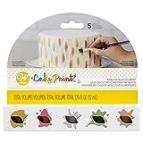 Edible Cake Paint, Metallic Color Set of 5 by Wilton