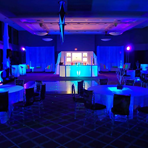 LaluceNatz 18W Black Lights Bulbs with 6 UV LED Bulb UV Spotlight E27 by LaluceNatz (Image #6)