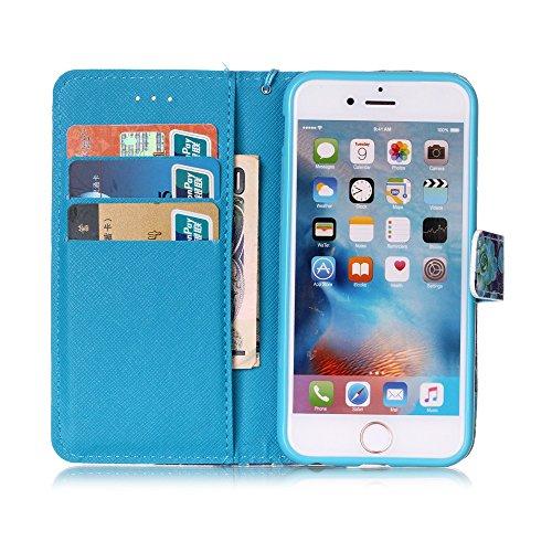 Custodia Apple iPhone 6s Plus (5.5) Cover Case, Ougger Wind Chimes  Portafoglio PU ...