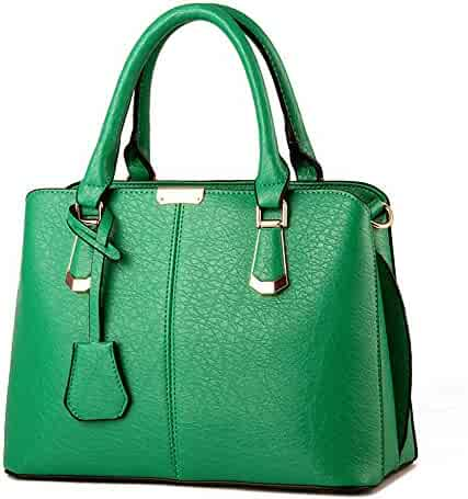 8d09f2026ccb Shopping Leather - Greens - Top-Handle Bags - Handbags & Wallets ...
