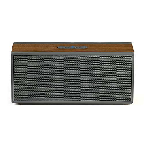 Grain Audio PWS.01 Packable Encased Bluetooth Wireless Speaker System with 8 Hour Rechargeable Battery (Walnut)
