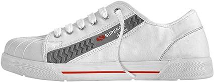 SUPERGA Scarpa SUPERGA bassa in canvas bianca S1 tg 44