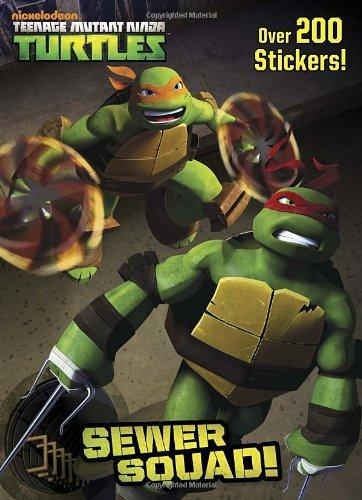 Sewer Squad! (Teenage Mutant Ninja Turtles) (Deluxe ...