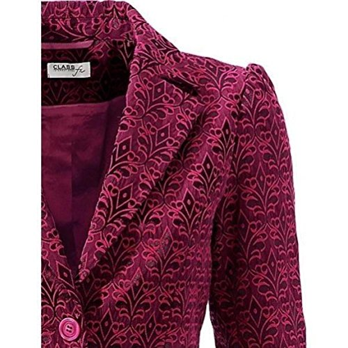 Class International fx Jacquard Longblazer Bodyform Blazer