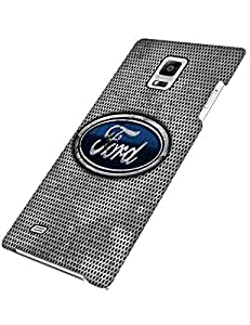 Slim Ford Car Logo Case Samsung Galaxy Note 4 Case Shock Absorb Luxury Bling Galaxy Note 4 3D Case For Girls Teen