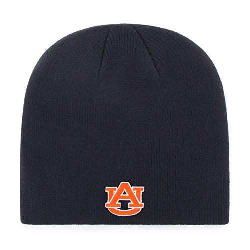 OTS NCAA Auburn Tigers Beanie Knit Cap, Navy, One Size ()