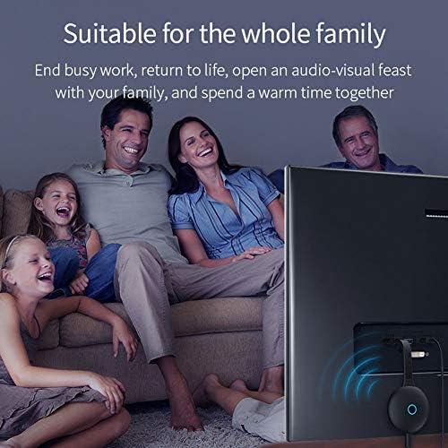 XLNB Adattatore per Specchio di Proiezione dello Schermo Mobile 2.4g WiFi 4k 1080p per Ricevitore Senza Fili Hdmi