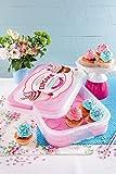 Snips Vintage Cupcake Holder (Holds 14 cupcakes), Pink