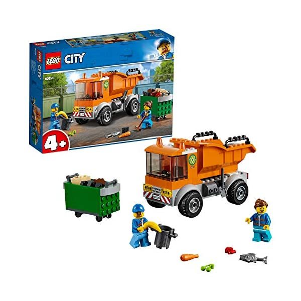 LEGO City - Camion della spazzatura, 60220 1 spesavip
