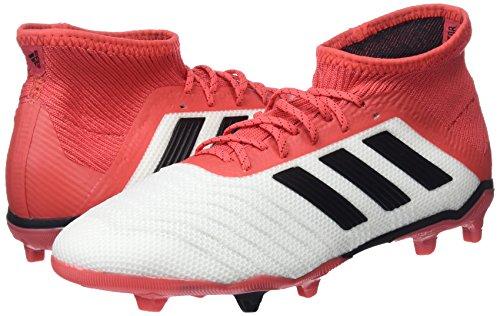Fg Unisexes J Football Predator De Blanc Chaussures 18 Negbas 000 Strap Enfants 1 Adidas ftwbla YR4Zwqz