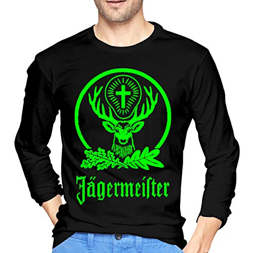 SeanDouglas Men Jagermeister Performing Long Sleeve T Shirt L Black