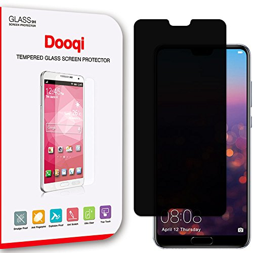 Dooqi Huawei P20 Pro Privacy Anti-Spy Tempered Glass Screen