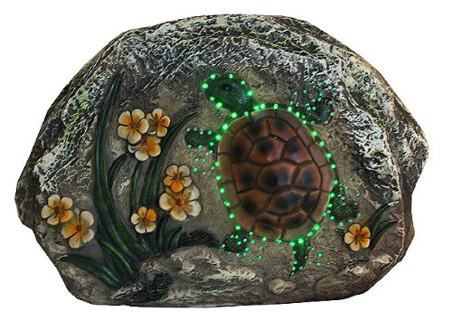 Outdoor Lighted Turtles - 7