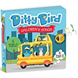 Ditty Bird OUR BEST INTERACTIVE CHILDREN'S SONGS BOOK for BABIES. Musical and Educational Toddler Toys. Sing-Along Board Books for one year old. Toys for 1 year old boy gifts. 1 year old girl gifts.