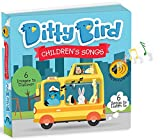 Ditty Bird OUR BEST INTERACTIVE CHILDREN'S SONGS BOOK for BABIES. Musical Toddler Book. Board Books for one year old. Educational Toys for 1 year old boy gifts. 1 year old girl gifts.