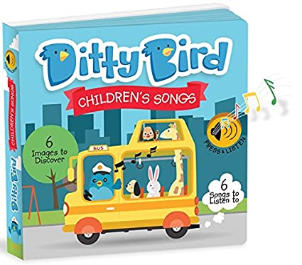Ditty Bird Our Best Interactive ChildrenS Songs Book Babies Musical Toddler Board Books