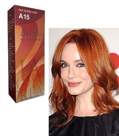 Amazon.com : Berina Hair Professional Permanent Hair Color Cream (A ...