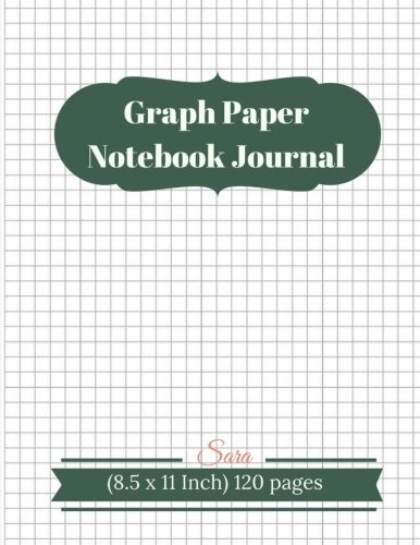 Graph Paper Notebook Journal 1 4 Squared Graphing Paper