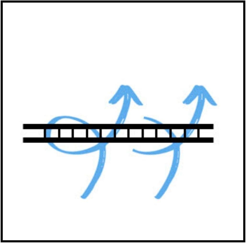 HBCOLLECTION Traspirante Telo di Copertura Lung. x larg. x Alte. 7.10x2.40x2.20m Copri per Caravan altissima qualit/à