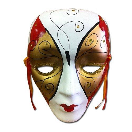 Colorful Porcelain Wall Decor Beauty Mask LG Porcelain Wall Mask