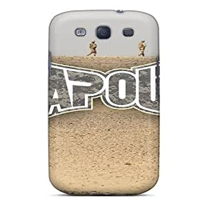 Excellent Cell-phone Hard Covers For Samsung Galaxy S3 With Customized Stylish Tapout Image KimberleyBoyes