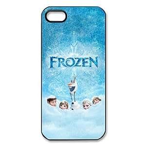 diy zhengFrozen Newest 3D Cartoon Movie Cute Custom Hard Plastic Back Case Cover for iPhone 6 Plus Case 5.5 Inch
