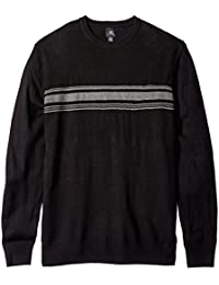 "<span class=""a-offscreen"">[Sponsored]</span>Men's Big and Tall Soft Acrylic Crew with Chest Stripe"