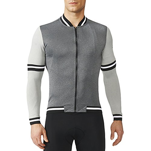 adidas Mens Anthem Cult Cycling Jersey - Grey - Grey - S - Adidas Bicycle