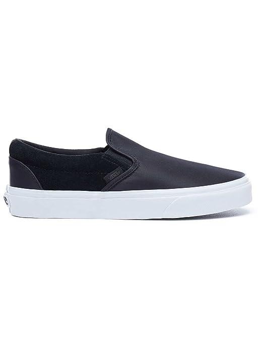 Vans Classic Slip On Sneaker Damen Herren Kinder Unisex Schwarz
