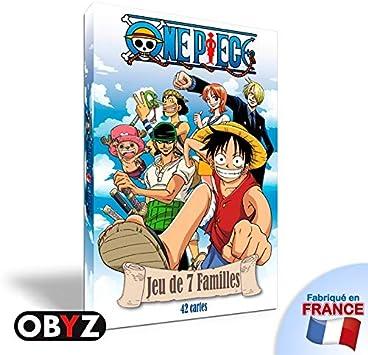 One Piece Juego Juego de Las 7 familias: Amazon.es: Juguetes y juegos