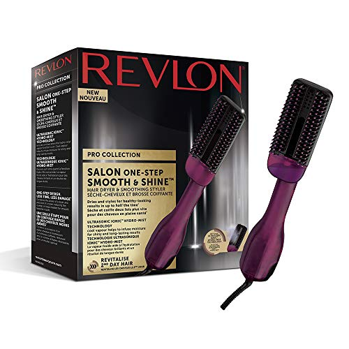 Revlon Pro Collection Salon One-Step Smooth & Shine – Secador y Alisadora de Pelo