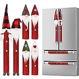 D-FantiX Gnome Christmas Refrigerator Handle Covers