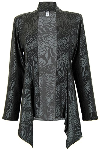Jostar Womens HIT Mid-cut Jacket Long Sleeve Print