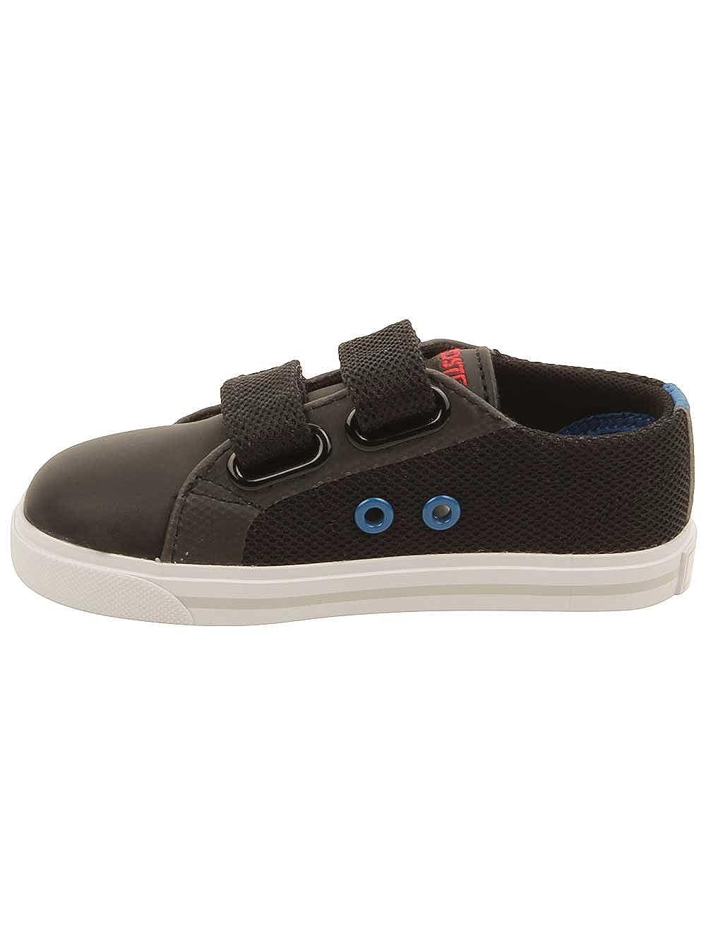 Amazon.com: LACOSTE Marcel 4161 Black/Royal Blue Sneakers 7-32SPI0121024 Infant/Toddler Shoes (4.0 M US Toddler): Shoes