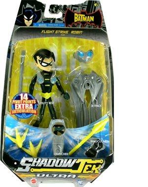 (The Batman Shadow Tek Ultra Action Figure Flight Strike Robin)