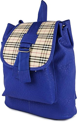 a63053c9a Buy Bizarre Vogue Stylish College Bags Backpacks For Women   Girls (Blue