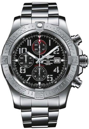 Breitling Super Avenger Men's Chronograph Watch - A1337111-BC28-168A