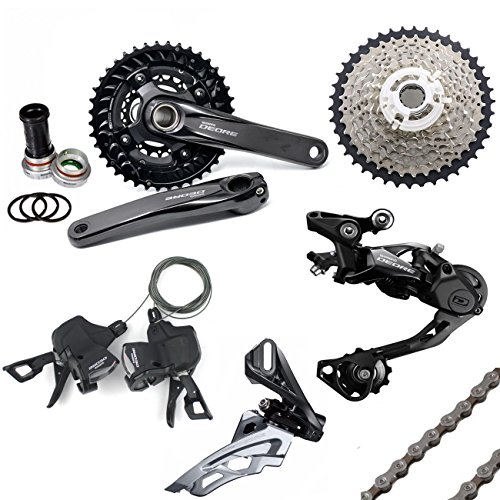 7330b4f4290 YAD Shimano Deore Groupset 10 Speed M6000 Mountain Bike Group Set 7pcs -  Black - Buy Online in Qatar. | Sporting Goods products in Qatar - See  Prices, ...