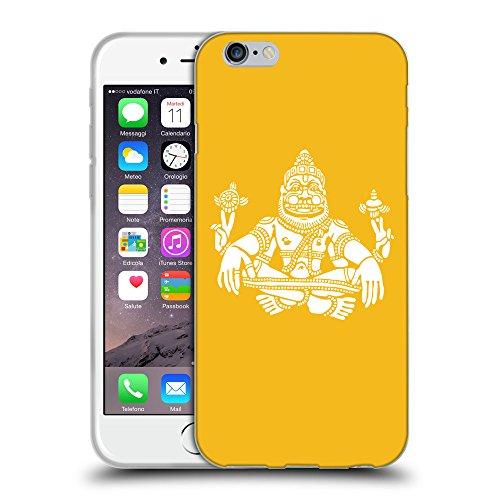 "GoGoMobile Coque de Protection TPU Silicone Case pour // Q09550602 Hindou 9 ambre // Apple iPhone 6 4.7"""