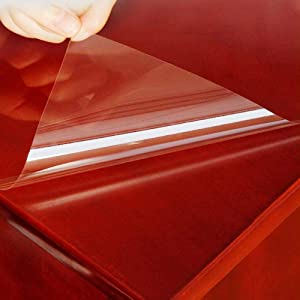 HOHO Glossy Clear Protection Film Table Furniture Stickers 4mil Home Vinyl 70cmx300cm