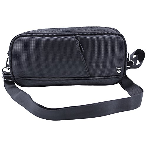 Dsi Metal Case (Technoskin - Switch Case - 8 Game Slots - System Pouch and Accessory Pouch - Carrying Strap - Soft Microfiber Lining)