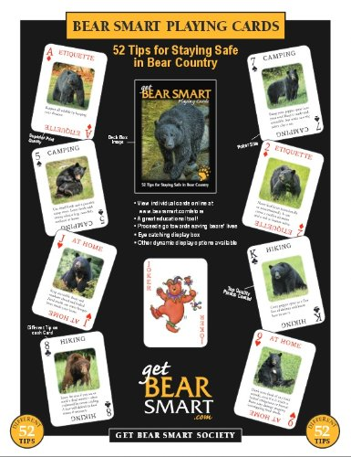 Educational Playing Card (Get Bear Smart - Playing Cards (Printed in the)