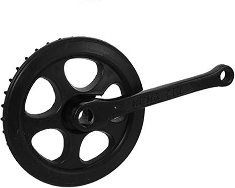 18.5cm Longitud Crank 36T catalina y bielas para bici: Amazon.es ...