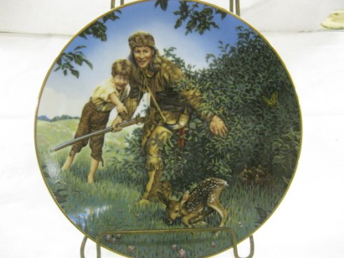 (The Bradford Exchange American Folk Heroes Davy Crockett Second Issue In A Series Decorative Plate)