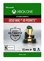 NHL 18 Ultimate Team NHL Points 1050 - Xbox One [Digital Code]