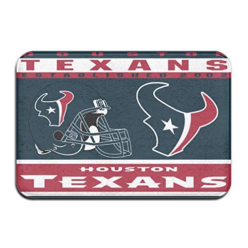 - Dalean Houston Texans Anti-Sliding Door Mat Floor Mat,Do Not Fade,15.75inx23.62in,Suitable Indoor Floor MATS Such As Entrance, Bathroom,Bedroom,Toilet,Etc