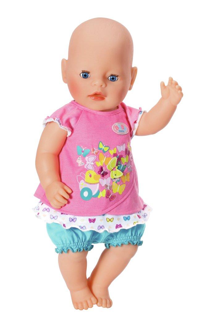 s Juego de ropita para mu/ñeca, 3 a/ño Chica Accesorios para mu/ñecas Verde 43 cm Zapf Baby Born Dresses Butterfly Juego de ropita para mu/ñeca Rosa 4 Pieza s