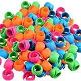 Peels Thread Spool Huggers for Sewing Machine to Prevent Thread Unwinding No Loose Ends or Thread Tails (100 Pieces)